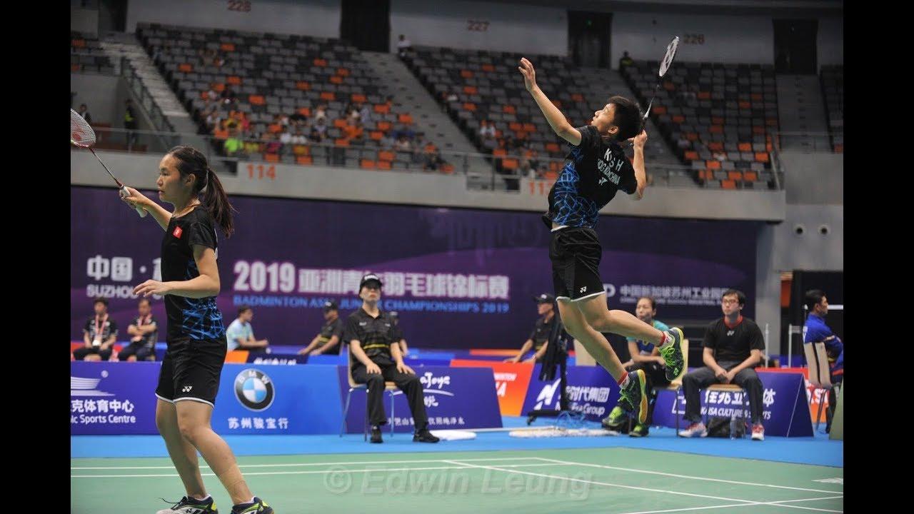 Badminton video asian #1