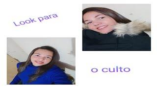 Simoninha - LOOK PARA O CULTO, MAS NÃO FUI AO  CULTO POR CAUSA DA MÁSCARA