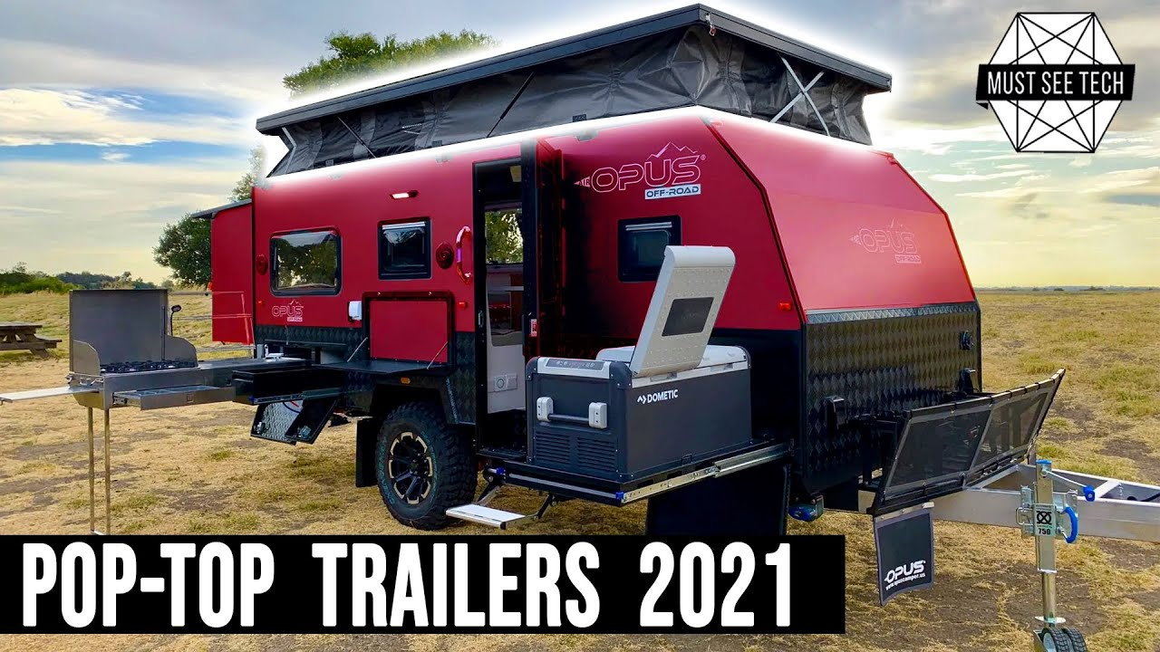 9 Newest Pop Up Trailers Offering Added Comforts In Compact Size Youtube