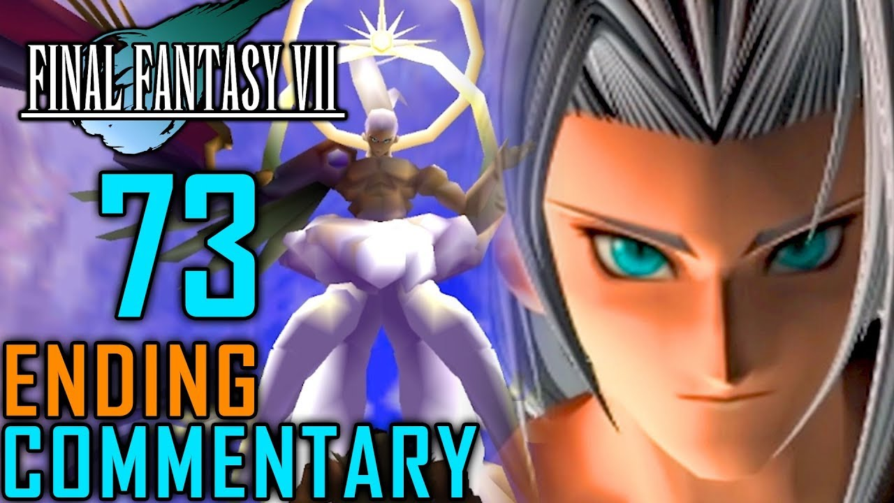 Final Fantasy Vii Walkthrough Part 73 Final Boss Sephiroth Ending Bizarro Safer Sephiroth