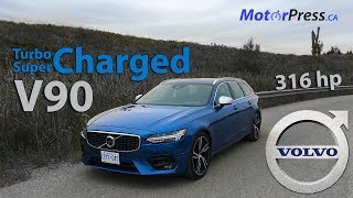 2019 Volvo V90 T6 AWD R-Design - Review