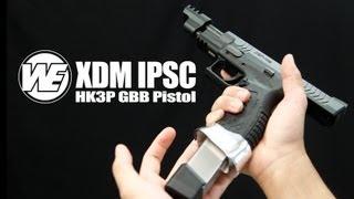 we have ipsc envy we xdm ipsc version gbb pistol redwolf airsoft rwtv