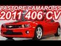 PASTORE Chevrolet Camaro SS 2011 aro 20 AT6 RWD 6.2 V8 406 cv 56,7 mkgf 250 kmh 0-100 kmh 4,8 s