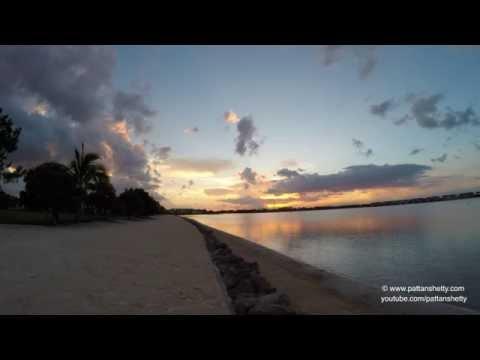 Miromar Lake Sunset at FGCU NLV 4k - Day 1