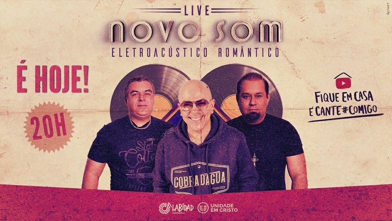 Live Novo Som Eletroacústico Romântico - #FiqueEmCasa e cante #comigo