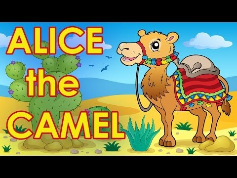 Alice the Camel - Counting Songs for Kids - Action Songs for Kids - by The Learning Station
