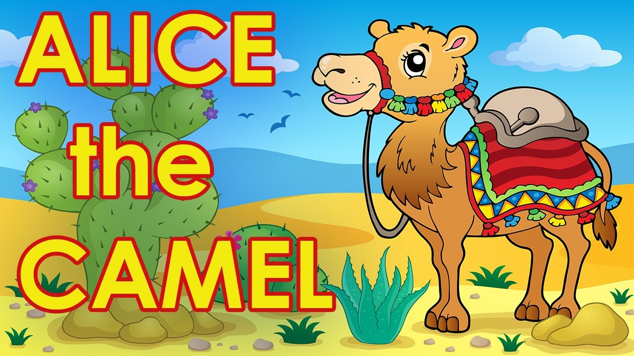 cdd6e0afd97d Alice the Camel - Counting Songs for Kids - Action Songs for Kids ...