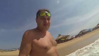 ГОА  Аравийское море  Волны под 2 метра  Теряю очки