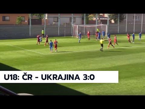 Slovakia Cup 2018: ČR U18 - Ukrajina U18 3:0 (7.5.2018)