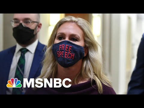 Far-Right Republicans Try To Distance Themselves From 'America First' Caucus | All In | MSNBC