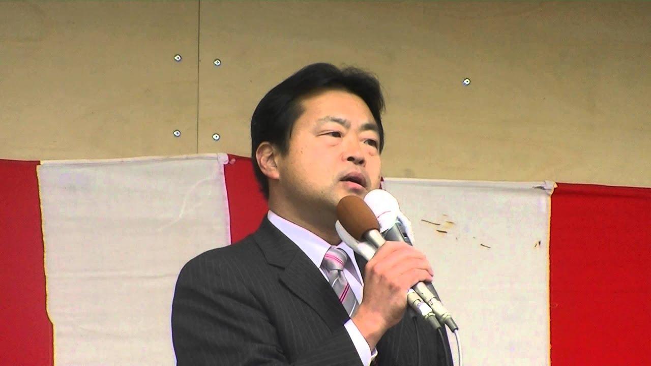日光市長選挙 大嶋一生候補者 出...