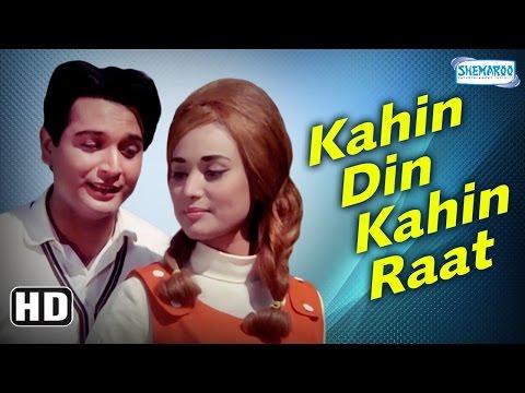 Kahin Din Kahin Raat {HD} Biswajeet - Pran - Nadira - Helen - Johnny Walker - Old Hindi Movie