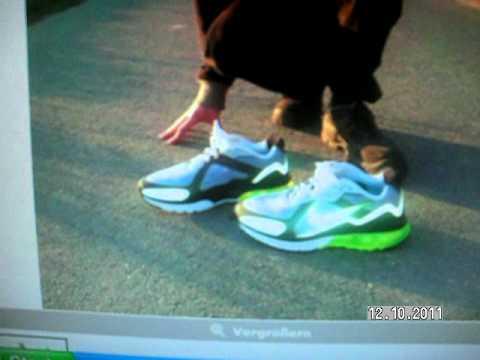 Wie heißt das Modell der Nike Schuhe die Dieter Bohlen beim