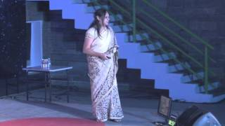 Changing the space of the poor: Anita Reddy at TEDxMAIS