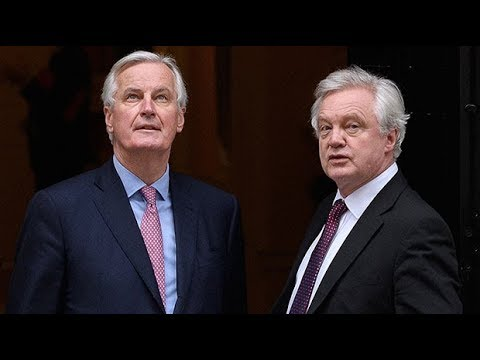 Michel Barnier demands crisis talks with David Davis
