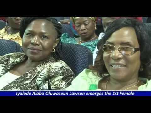 IYALODE ALABA LAWSON EMERGES THE 1ST FEMALE PRESIDENT OF NACCIMA WITH POMP AND GLEE