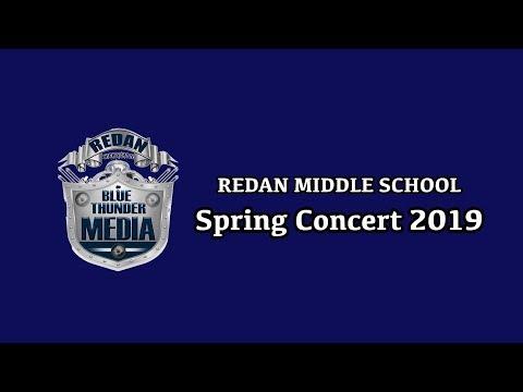 Blue Thunder Media | Redan Middle School Spring Concert 2019