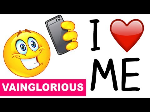 Learn English Words - VAINGLORIOUS - Meaning, Vocabulary Lesson with Pictures and Examples