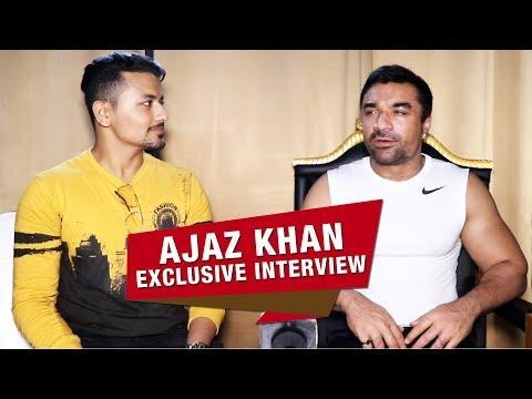 Exclusive Chit Chat With Ajaz Khan | Ek No. Manas | Politics, Bollywood Khans, Upcoming Film ...