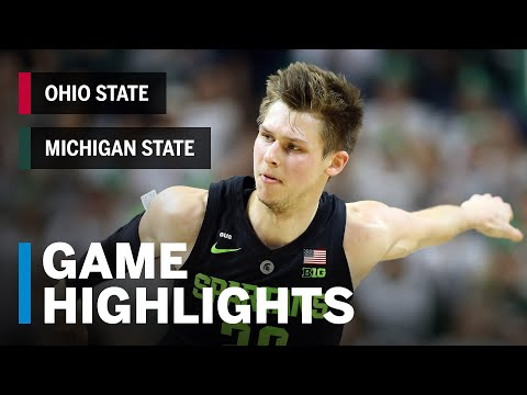 download Highlights: Ohio State at Michigan State | Big Ten Basketball