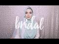 Wedding Hijab Tutorial Necklace as Tiara