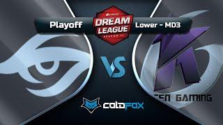 [PT-BR] Team Secret vs Keen Gaming - DreamLeague 11 - Dota 2 Major