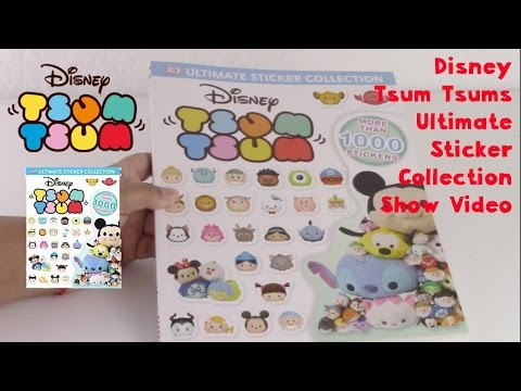 Disney Tsum Tsums Ultimate Sticker Collection Show Video