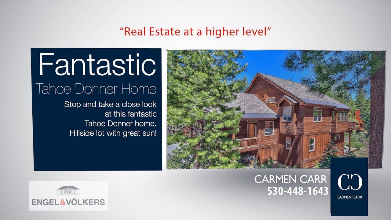 Carmen Carr Real Estate - Fantastic Tahoe Donner