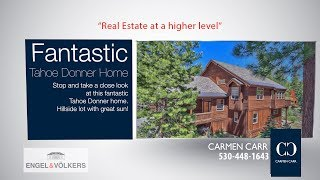 Carmen Carr Real Estate - Fantastic Tahoe Donner