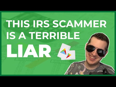 This IRS Scammer Is A Terrible Liar