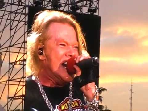 GUNS N' ROSES – IMOLA 2017 – Welcome to the Jungle
