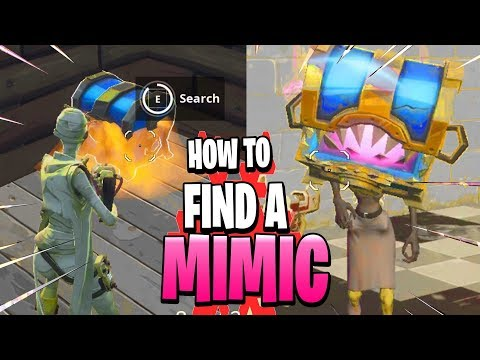 How To Find A Mimic In Fortnite Save The World  In Stonewood Plankerton And Canny Valley