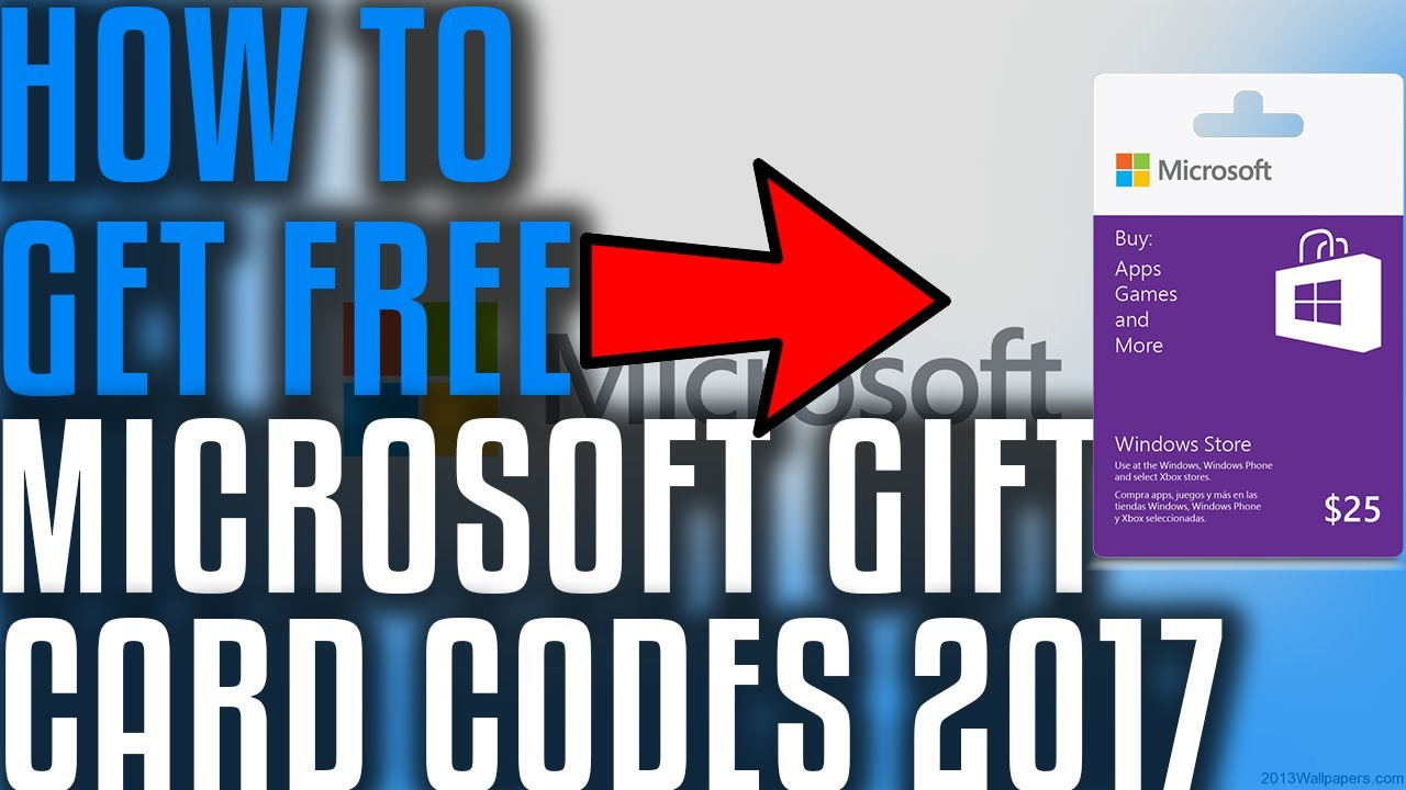 Does It Work Free Microsoft Gift Card Codes 2017 Youtube
