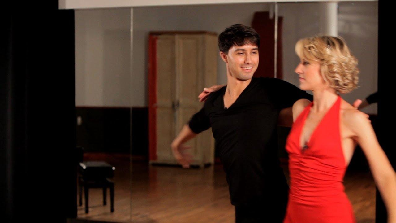 how to do a mambo sombrero ballroom dance youtube