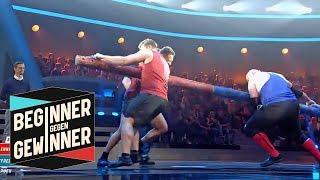 Strongman: Wird der Beginner mit Evil Jared gewinnen? | Teil 2 | Beginner gegen Gewinner | ProSieben