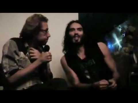 Russell Brand talks about psychedelic experiences and social revolution