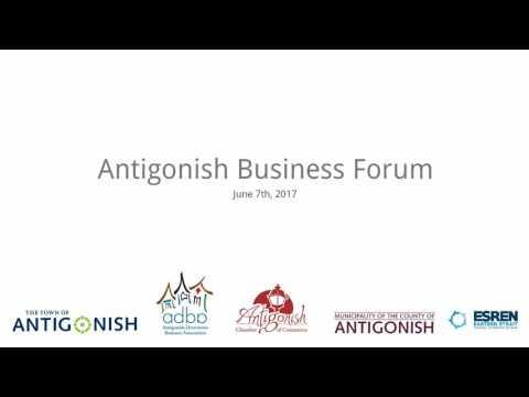 Antigonish Business Forum - June 7 2017