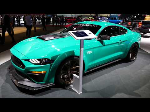 New 2018 Ford Mustang Fastback By Roush Performance - Muscle Car - Exterior Tour - 2017 LA Auto Show