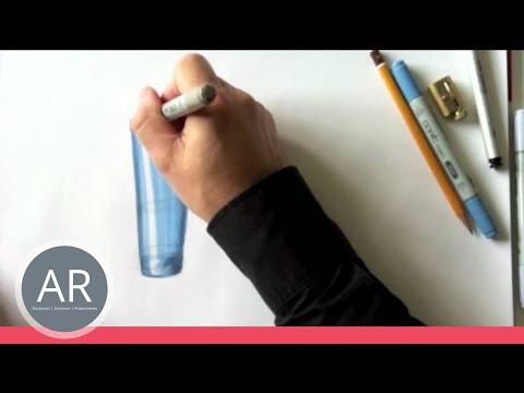 zeichnen lernen runde formen skizze akadmie ruhr tutorial youtube. Black Bedroom Furniture Sets. Home Design Ideas