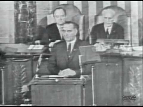 President Lyndon B. Johnson 1965 Voting Right