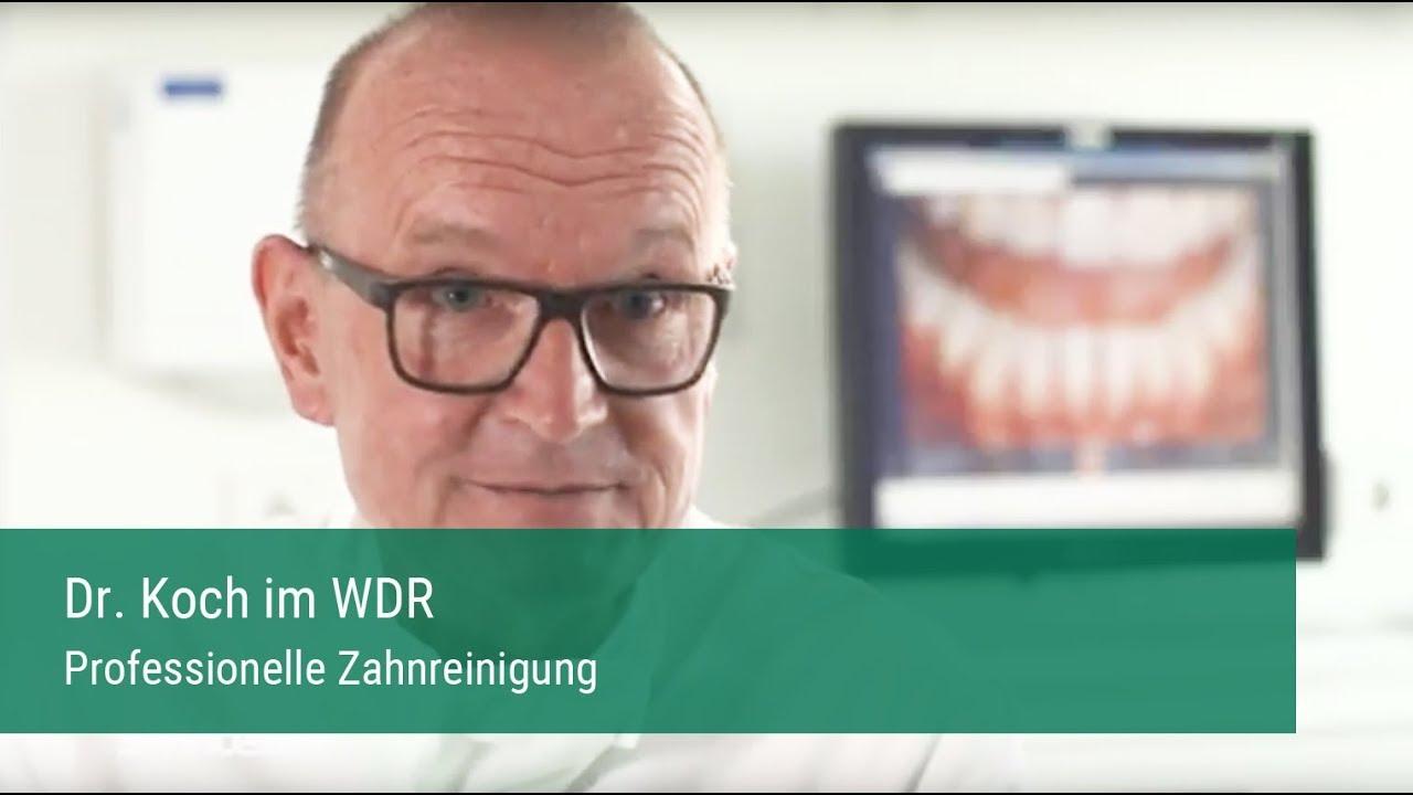 Professionelle Zahnreinigung Dr Wolfgang Koch Herne Wdr Servicezeit 2017 Youtube