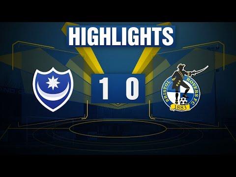 HIGHLIGHTS: Portsmouth 1-0 Bristol Rovers