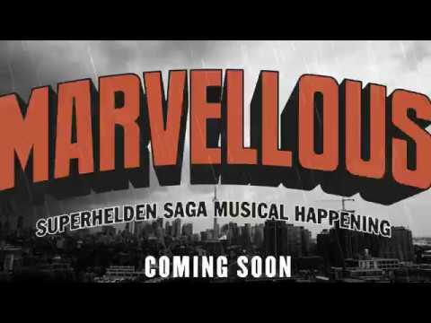 Marvellous - superhelden saga al happening  COMING SOON