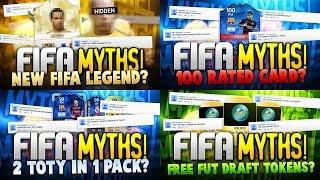 ALL FIFA MYTHS OF MATTHDGAMER!