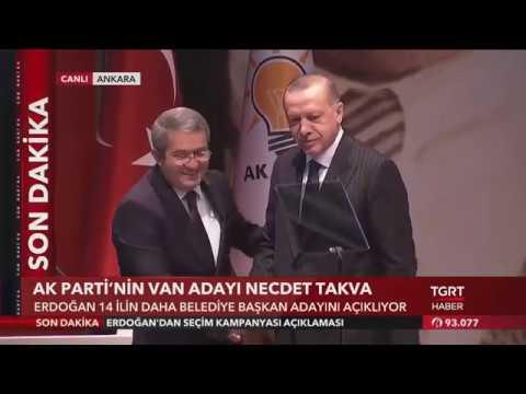 AK Parti'nin 14 İl Belediye Başkan Adayı Açıklandı