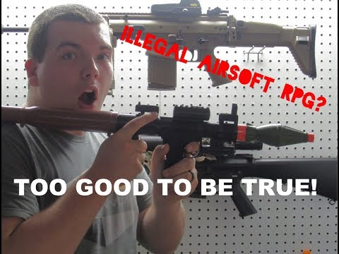 RPG HUGE AIRSOFT UNBOXING! This should be BANNED!