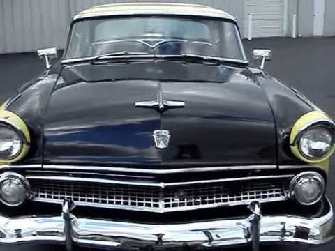 1955 ford crown vic black and yellow 2 tone youtube  1955 ford crown vic black and yellow 2 tone