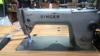 Singer 291U3 , Industrial canvas and leather sewing machine