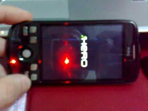 HTC Magic Hero ROM hang
