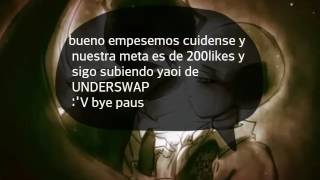 PAPYRUS x SANS (leer en la descripcion )